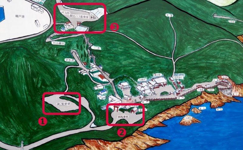 鵜戸神宮の地図