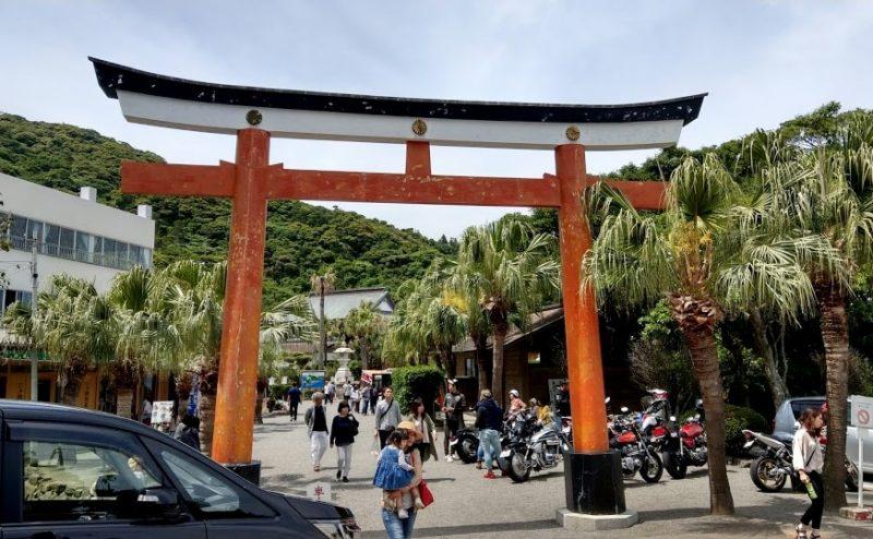 鵜戸神宮の入り口